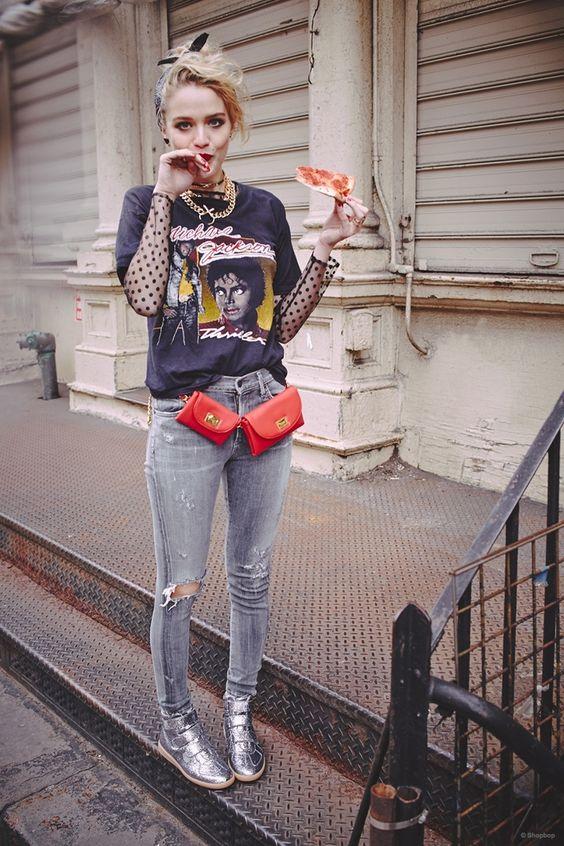 "Dana Drori for Shopbop's Homage to 80s Madonna Style: ""Desperately Seeking Susan"""