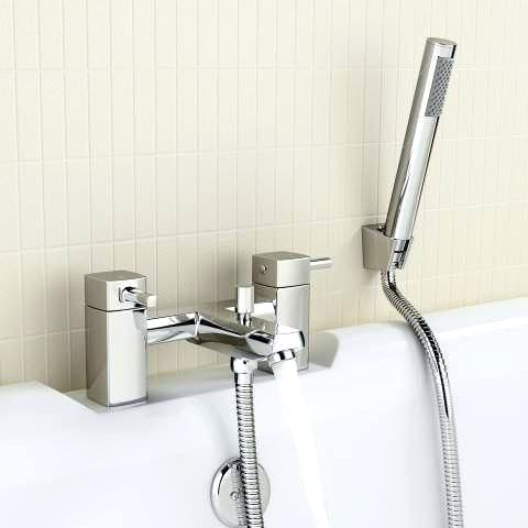 Shower Faucet Attachment Bath Mixer Taps With Hand Held Shower