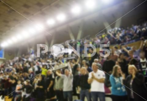 Blurred Background Of Crowd Of People In A Basketball Court Stock Photos Ad Crowd People Blurred Background Blurred Background Stock Photos People