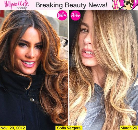 images of sofia vergara with highlighted hair | Sofia Vergara's Blonde Hair Makeover For Summer — Love Or Loathe?