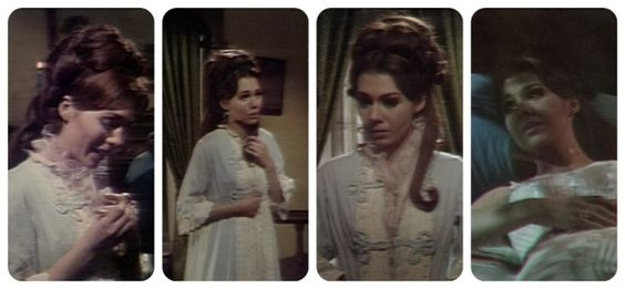 Josette Dupres, the part where she doesn't care what Barnabas Collins has become as long as she can go with him.