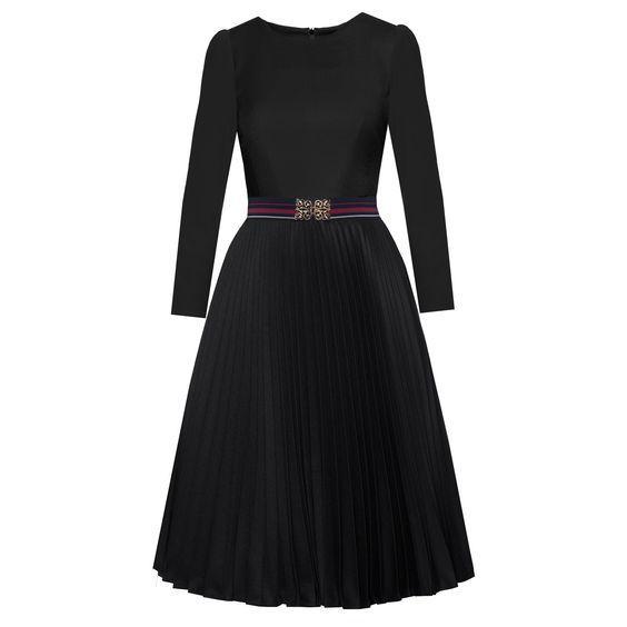Piccadilly Dress black - Autumn Winter 2016/2017 - Online Shop  - Lena Hoschek Online Shop