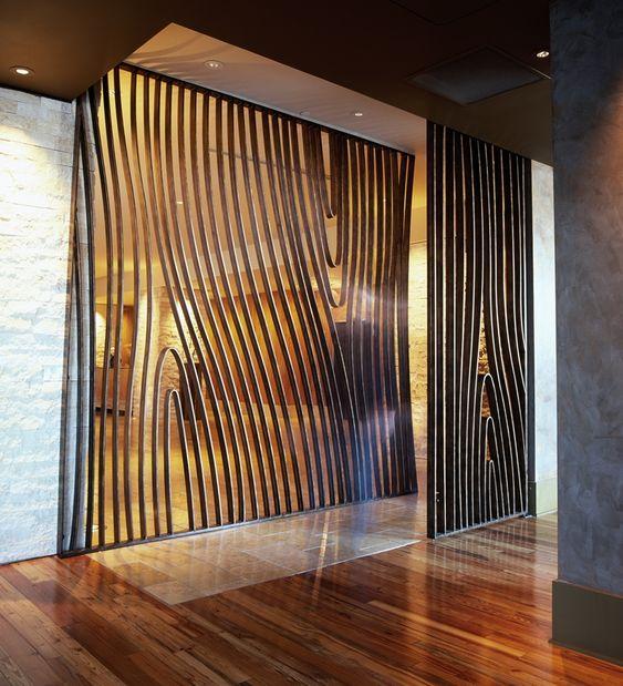 "Partition design ""AMERICANO"" Restaurant & Bar"
