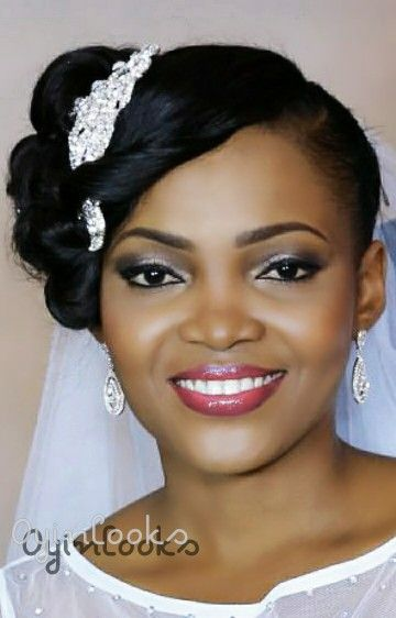 Bridal makeup by Oyinlooks