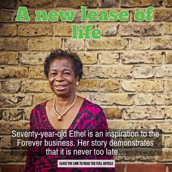 'A new lease of life' - look at this amazing Forever story! 💃 #FacesOfForever http://link.flp.social/YXPTJY