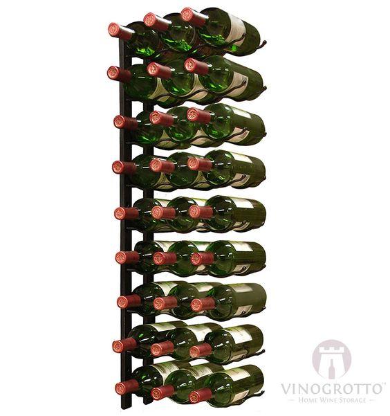 27 Bottle Epic Metal Wine Rack