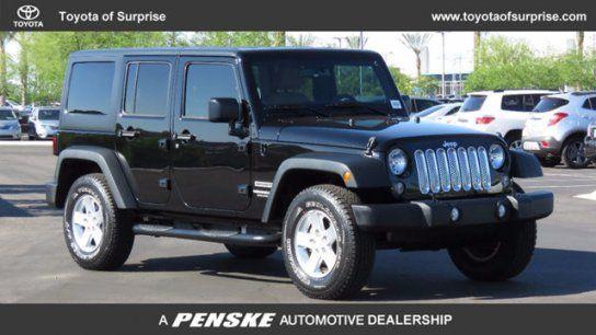 Sport Utility 2014 Jeep Wrangler 4wd Unlimited Sport With 4 Door In Surprise Az 85388 2014 Jeep Wrangler Jeep Jeep Wrangler