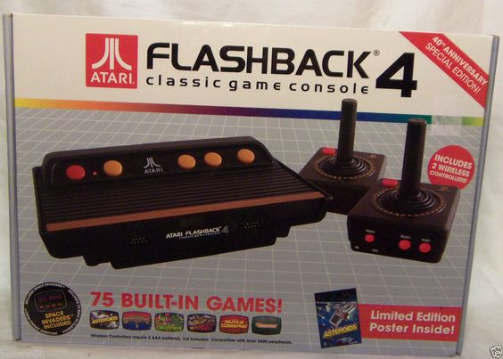 Pinterest the world s catalog of ideas - Atari flashback 3 classic game console ...