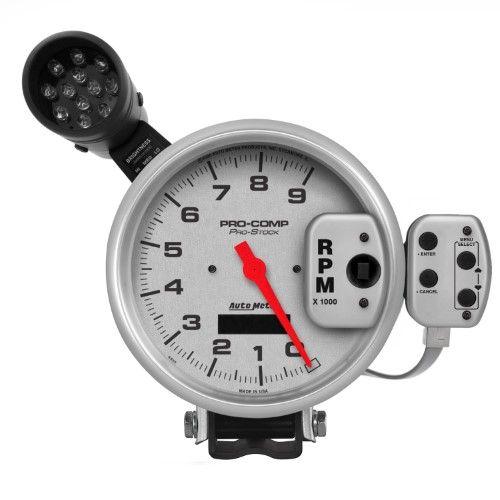 Autometer 6832 Ultra Lite Digital Tachometer Silver Tachometer Performance Racing Gauges