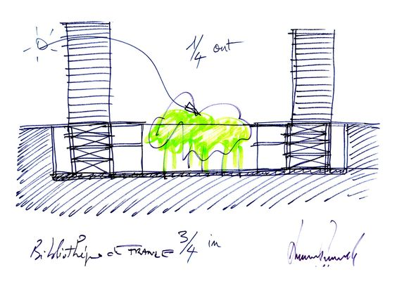 Choreography of Thought: Dominique Perrault's Sketches