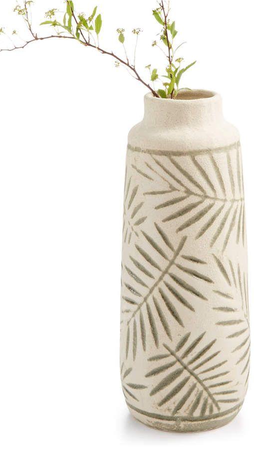 Home Essentials Closeout La Dolce Vita Collection Reviews Macy S Leaf Vase Mini Vase La Dolce Vita