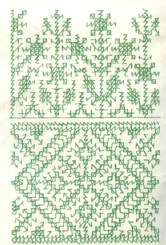 Gr�fico de punto marroqu�