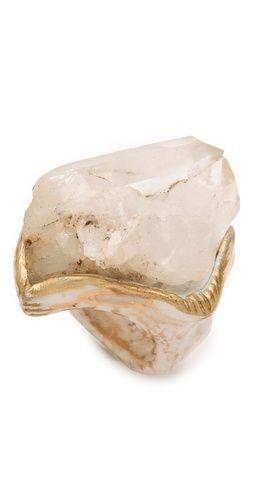 Adina Mills Design Small Quartz Cluster Ring