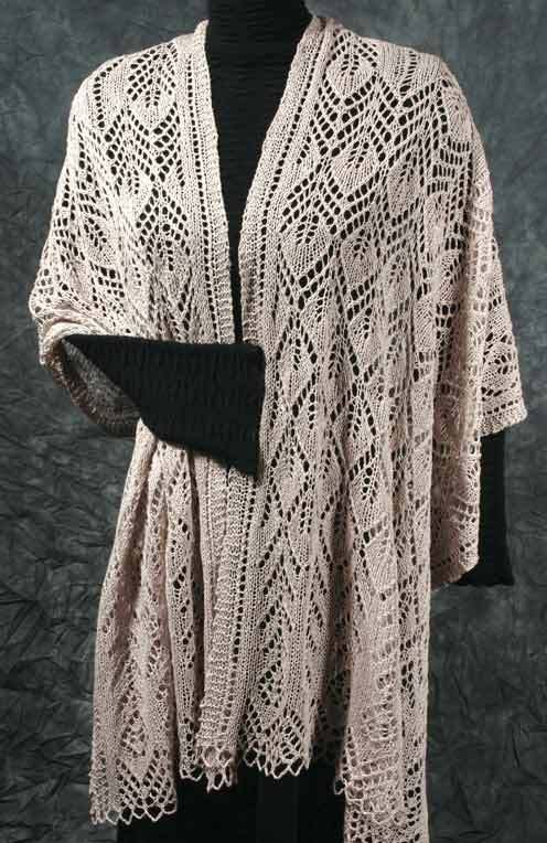 Knitted lace shawls wraps etc pinterest knitting and patterns