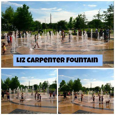 Free Fun in Austin: Splash Pad Feature: Liz Carpenter Fountain