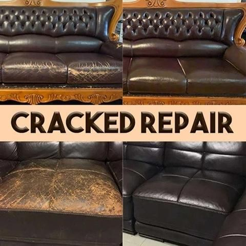 Leather Refurbishing Cleaner For Home And Cars In 2020 Leather Restoration Leather Couch Repair Restoring Leather Couch