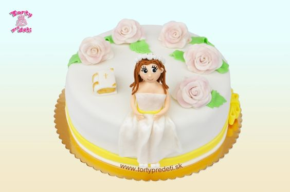 Torta na PSP, (Prvé Sväté Prijímanie) pre dievča. | Torty Žilina,
