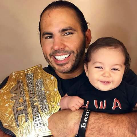 Matt Hardy with his Son | Wwe Family | Pinterest | Sons