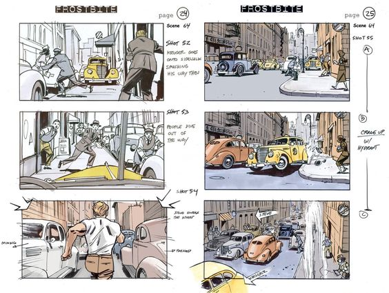 Captain-America-Storyboards-03 | Pictures For Comic Book