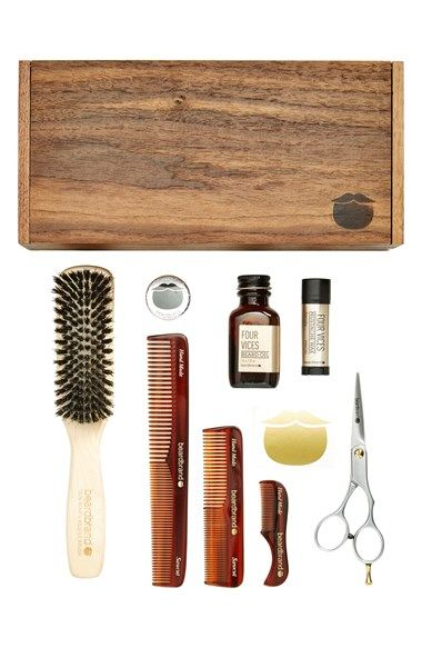 beardbrand 'Four Vices' Beardsman's Kit ($238 Value) available at #Nordstrom
