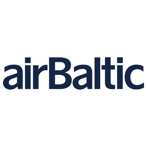 Airbaltic Logo Logos Poster Template Vector Logo