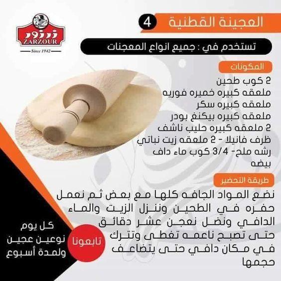 العجينة القطنية تستخدم في جميع المعجنات منتدى فتكات Arabic Food Cooking Recipes Desserts Healthy Snacks Recipes