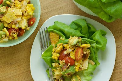 Corn Salad Wraps : Oven Love | Recipes | Pinterest | Salad Wraps, Corn ...