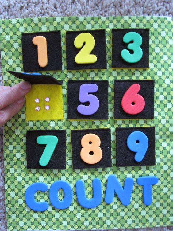 Brinquedo pedagógico_Numerais e números: