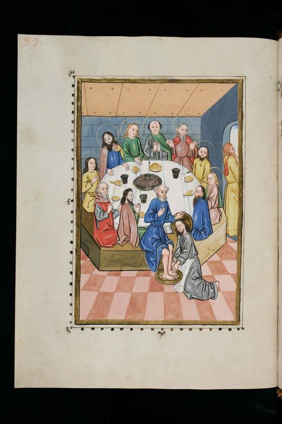 St. Gallen, Stiftsbibliothek, Cod. Sang. 368, p. 93 – Latin Gospel readings