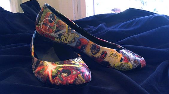 Comic Book Flats yes please.: