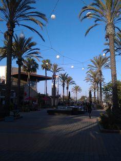 Outside mall in Torrance, California