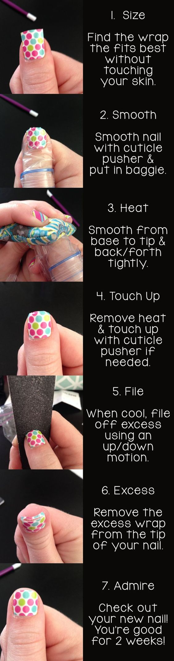 So THIS is how you apply Jambery nails! Ohhhhhhhhh. Cool! Check out my website to see all the designs!