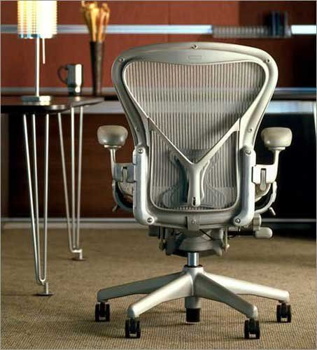 Herman Miller Classic Aeron Task Chair Highly Adjustable WPostureFit  Support Tilt Limiter WSeat Angle Adj Fully