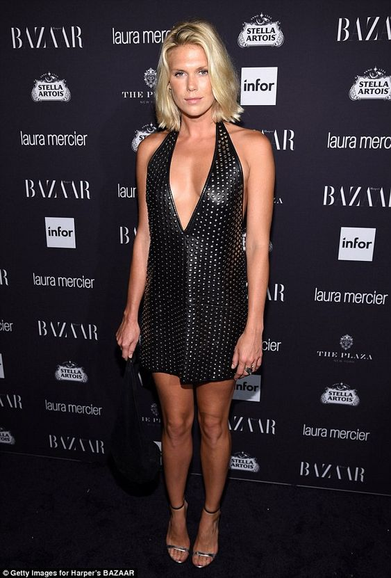 Chic:Alexandra Richards, 30, proved she'd picked up on her father's…
