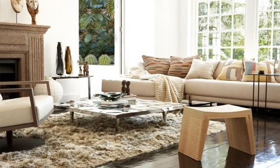 Contemporary living room design by OKHA Living Rooms Pinterest