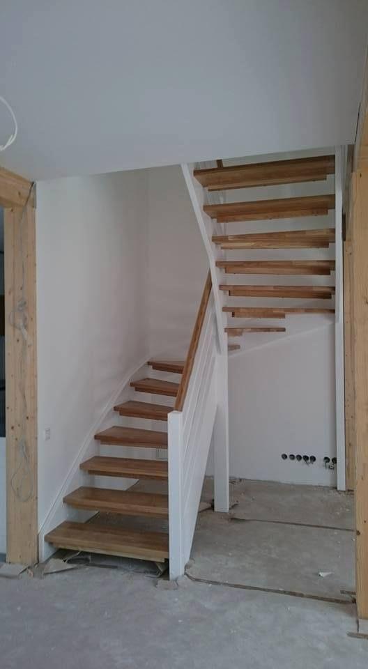 Escalier En U Escaliers Maison Escalier Rustique Maison Bois