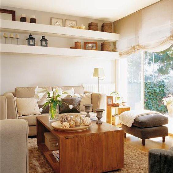 30 salones pequeños y confortables
