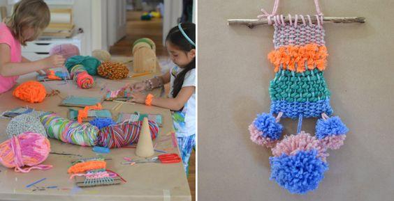 Teach your kids weaving, it's easy!