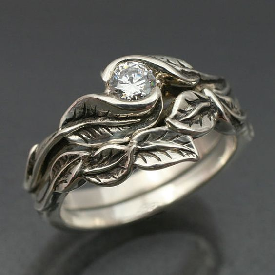 Two rings. I would love to get one for an engagement ring and then the other for a wedding ring. They're beautiful.
