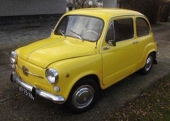 Catawiki online auction house: Fiat 600L restored - 1973