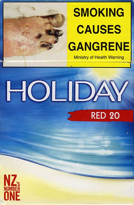 Funny fact is that some cigarettes brand in New Zealand is called HOLIDAY, and they are NZ's number ONE cigarettes :) I used to smoke them as well, but you don't feel like you are on holidays while you smoking them, i guess they are so popular cos they are one of the cheapest :)