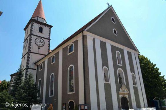 Varazdin. Iglesia de San Nicolas