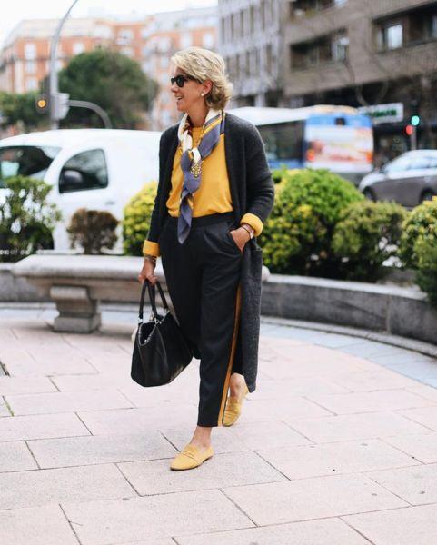 Блогеры старше 50 лет,которые знают,как выглядеть молодо и стильно. - Икона стиля