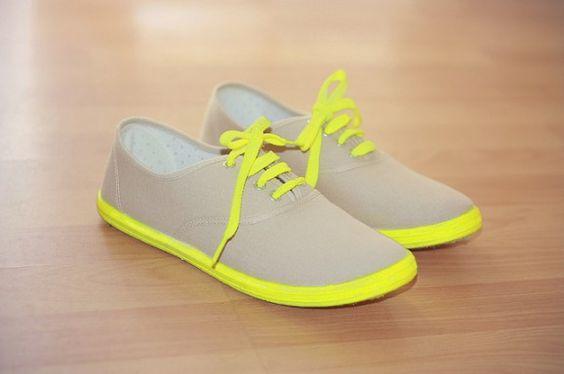 Neon Tennis Shoes