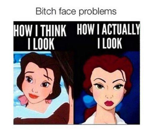 Hasil gambar untuk bitch face problem