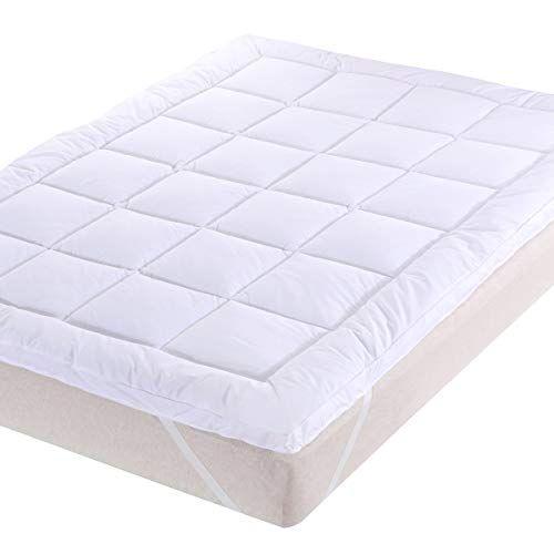 Royal Bedding 3 Inch Plush Microfiber Mattress Topper Full Size