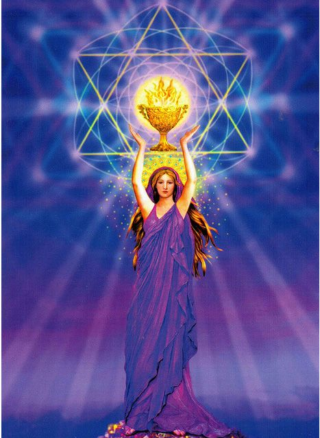 The Magdalene also known as Lady Nada Hierarch of the Sixth Ruby Ray, Twin Ray of Sananda by Marius Michael George