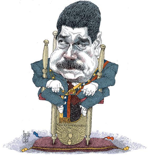 Caricaturas editoriales, políticas y de personajes del Ecuador y del mundo.