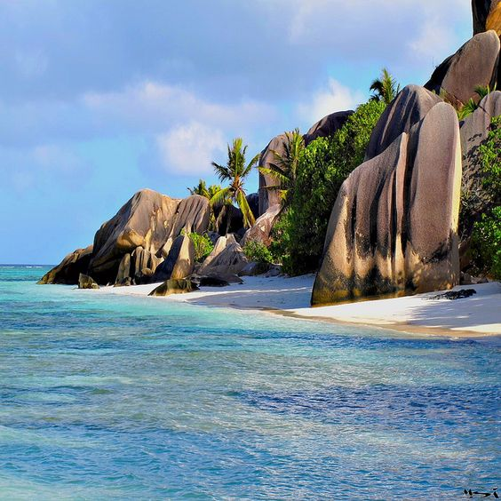 La Digue, seychelles
