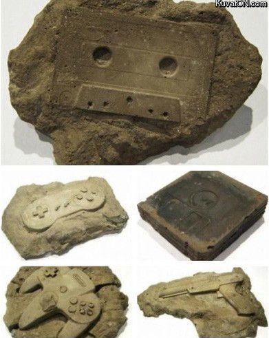 Zukunft! Unsere fosielen Funde